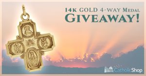 14K Gold 4-Way Cross Giveaway!
