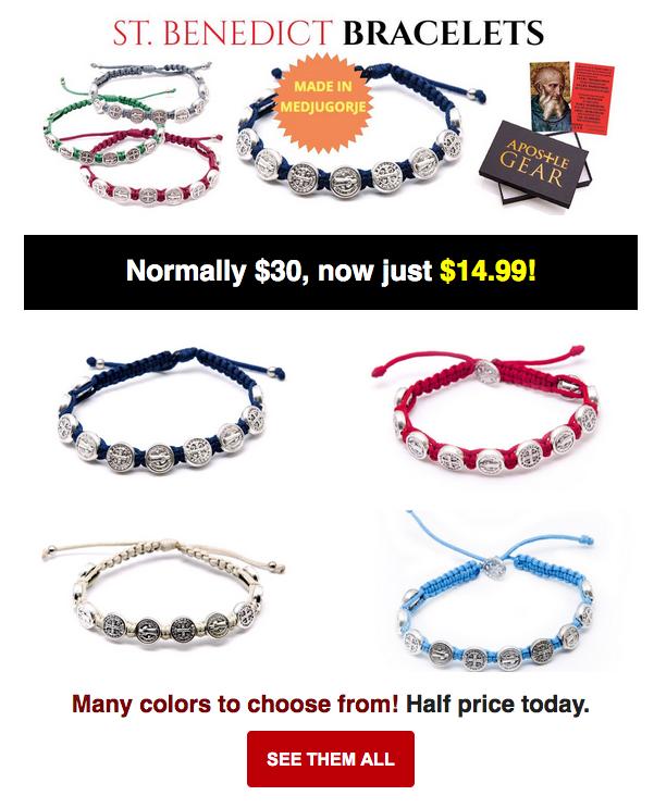 St Benedict Bracelets