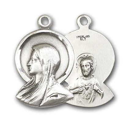 Sterling Silver Madonna Pendant