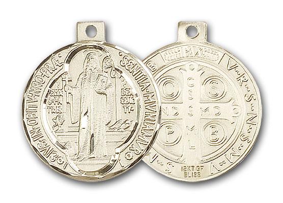 Gold-Filled St. Benedict Pendant
