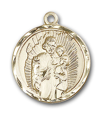Gold-Filled St. Joseph Pendant