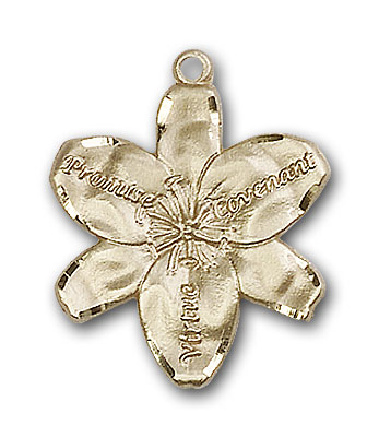 Gold-Filled Chastity Pendant