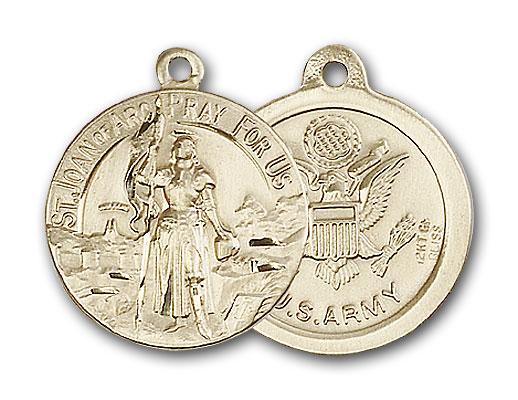 Gold-Filled St. Joan of Arc Pendant