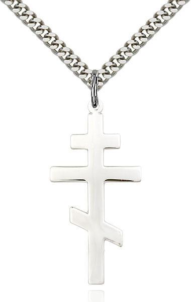 Sterling Silver St. Andrew Pendant