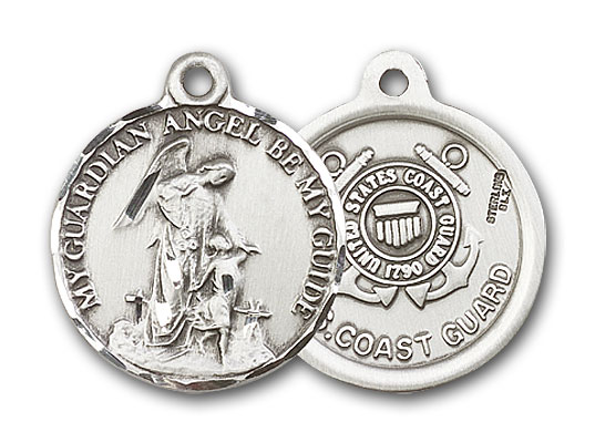 Sterling Silver Guardain Angel / Coast Guard Penda