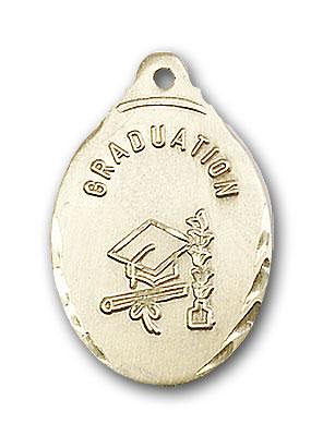 Gold-Filled Graduate Pendant