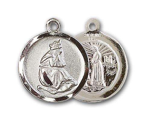 Sterling Silver Our Lady of La Salette Pendant