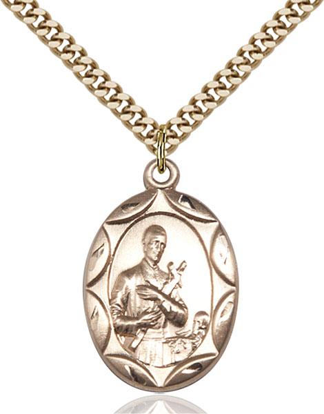 Gold-Filled St. Gerard Pendant