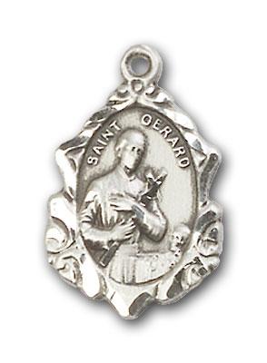 Sterling Silver St. Gerard Pendant