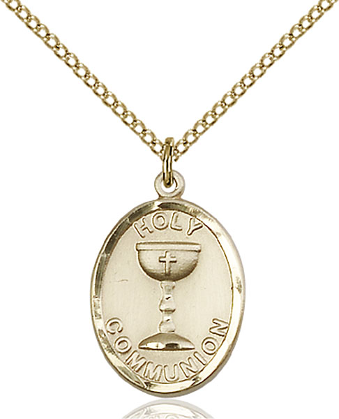Gold-Filled Holy Communion Pendant