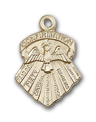 14K Gold Seven Gifts Pendant