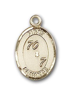 14K Gold First Penance Pendant