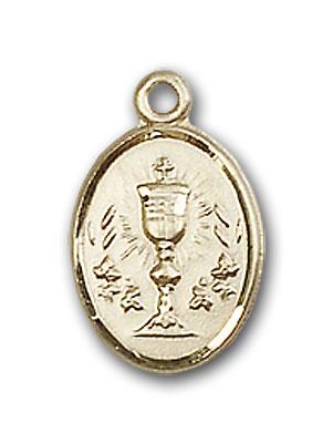 14K Gold Chalice Pendant