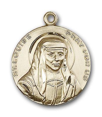 14K Gold St. Louise Pendant - Engravable