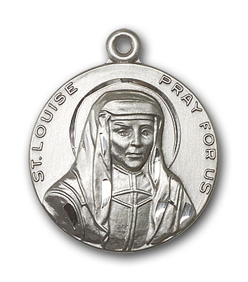 Sterling Silver St. Louise Pendant