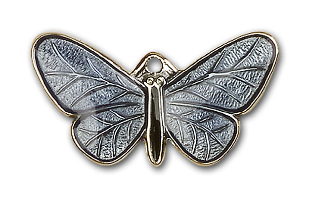 Gold-Filled Butterfly Pendant