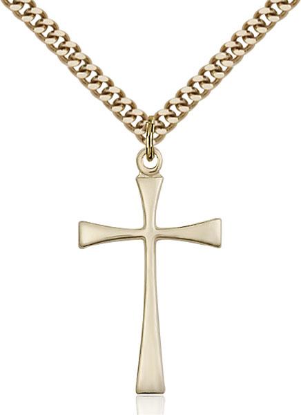 Gold-Filled Maltese Cross Pendant