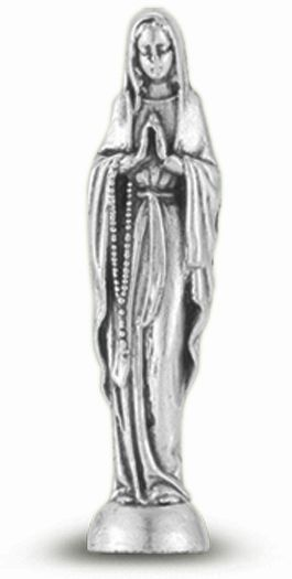 10-Pack - Our Lady Of The Rosary Pocket Statue
