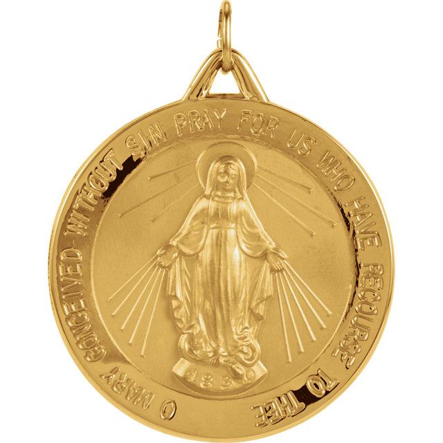 18KT Yellow Gold Milagrosa medal Cord Blue Bracelet