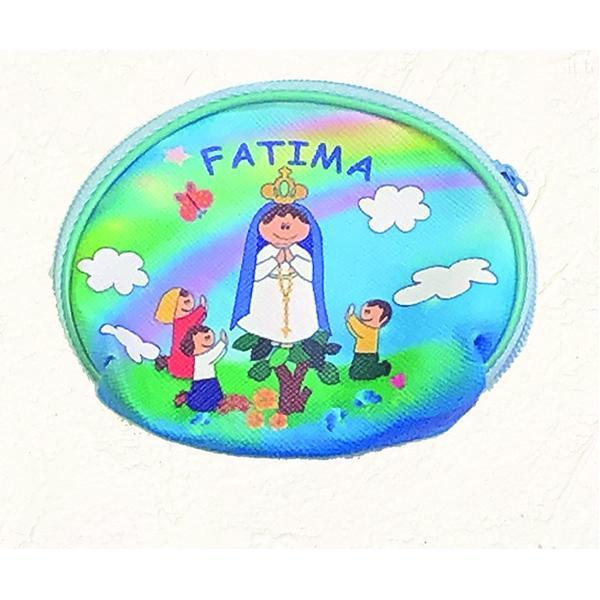 Lady of Fatima Vinyl Rosary Pouch