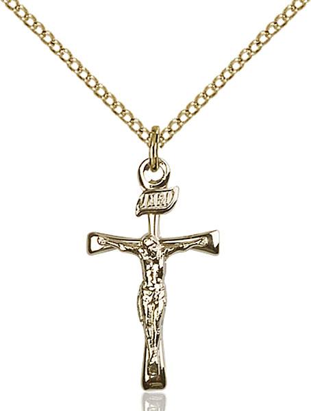 Gold-Filled Maltese Crucifix Pendant
