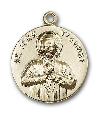 Gold-Filled St. John Vianney Pendant