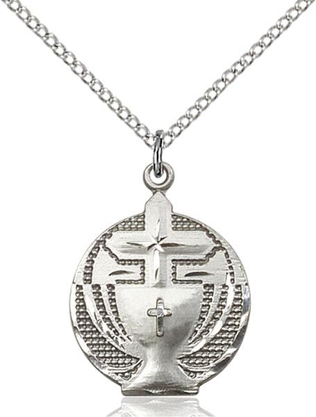 Sterling Silver Communion Pendant