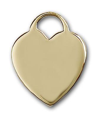 Gold-Filled Heart Pendant