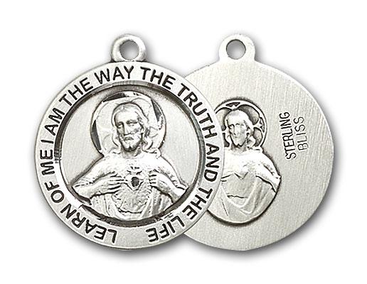 Sterling Silver Scapular Pendant