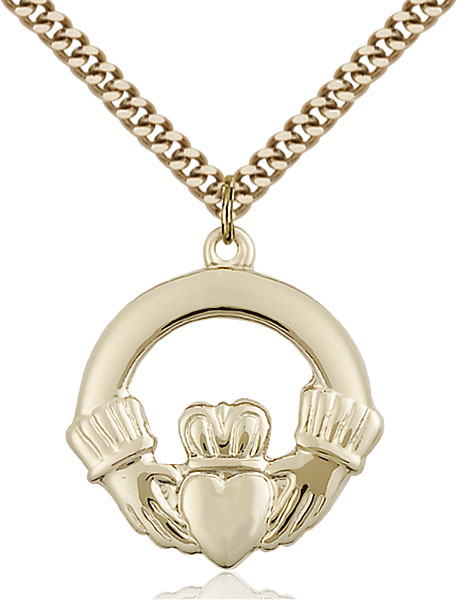 Gold-Filled Claggagh Pendant
