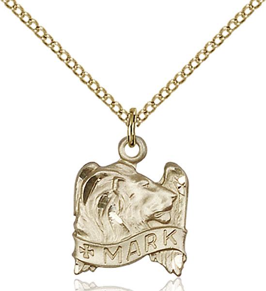 Gold-Filled St. Mark Pendant