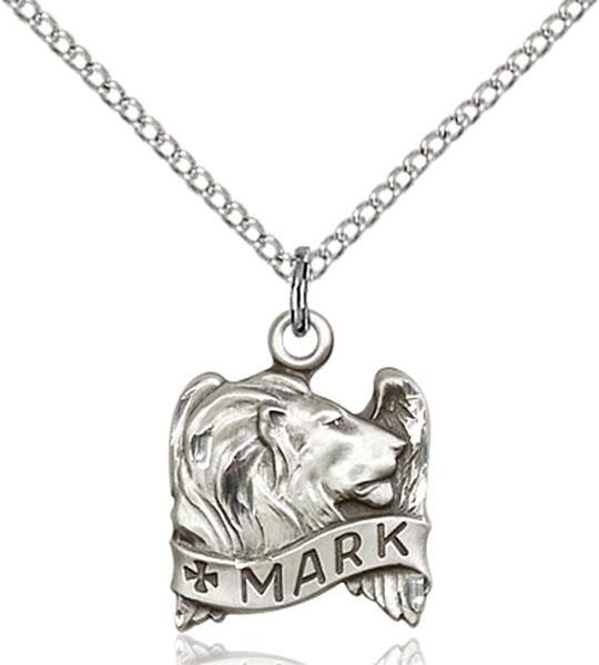 Sterling Silver St. Mark Pendant