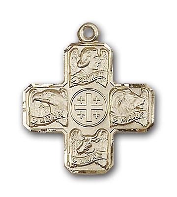 14K Gold Evangelist Pendant - Engravable