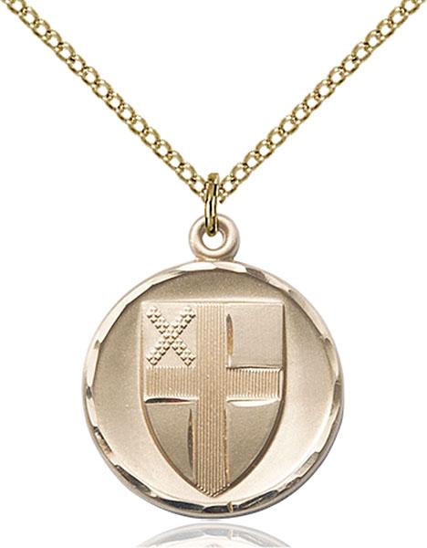 Gold-Filled Episcopal Pendant