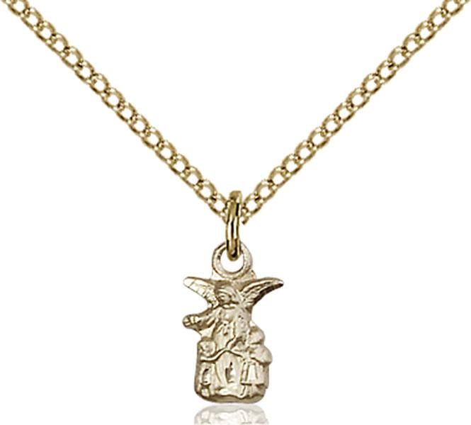 Gold-Filled Littlest Angel Pendant