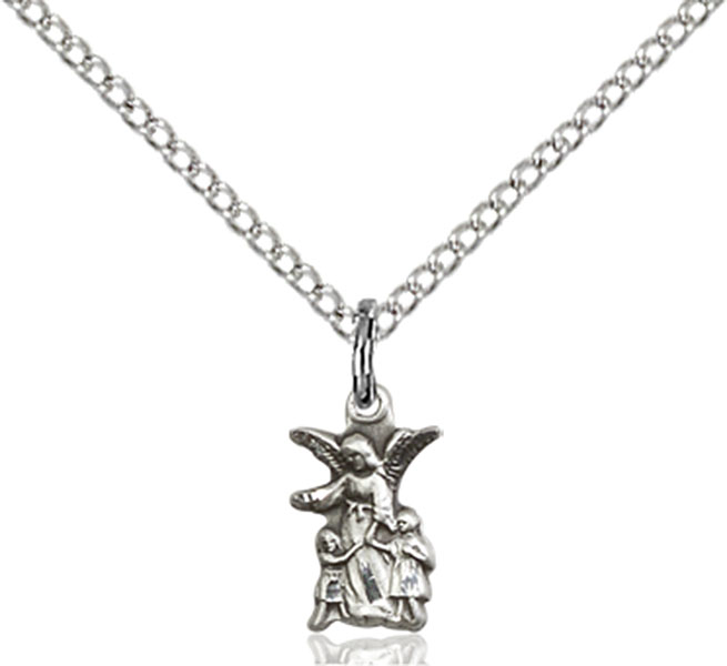 Sterling Silver Littlest Angel Pendant