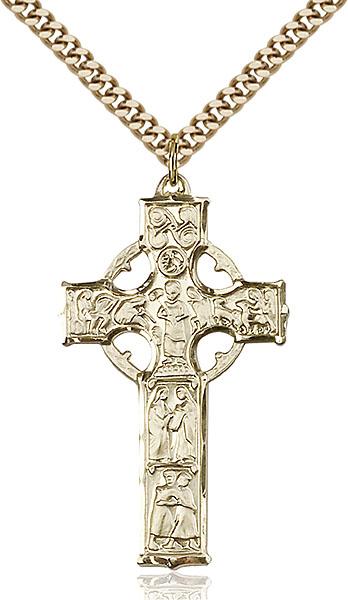 Gold-Filled Celtic Cross Pendant