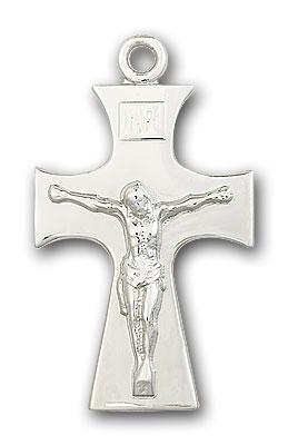 Sterling Silver Celtic Crucifix Pendant