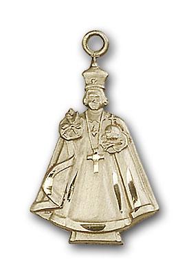 Gold-Filled Infant Figure Pendant