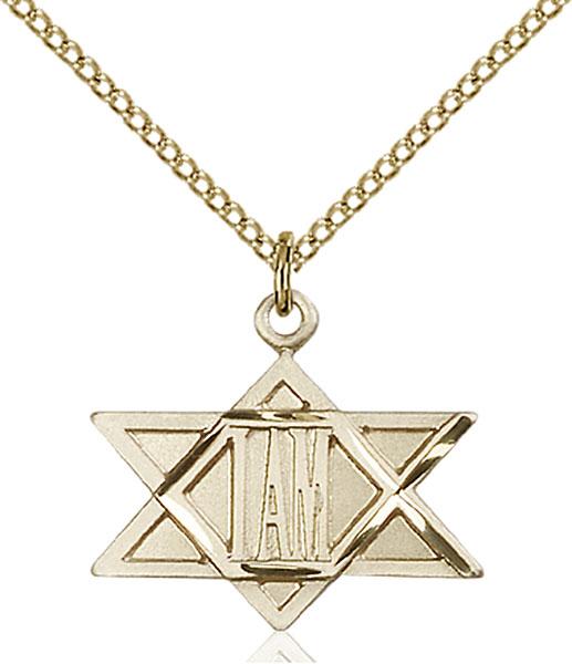 Gold-Filled I Am Star Pendant