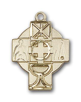 14K Gold Rcia Pendant - Engravable