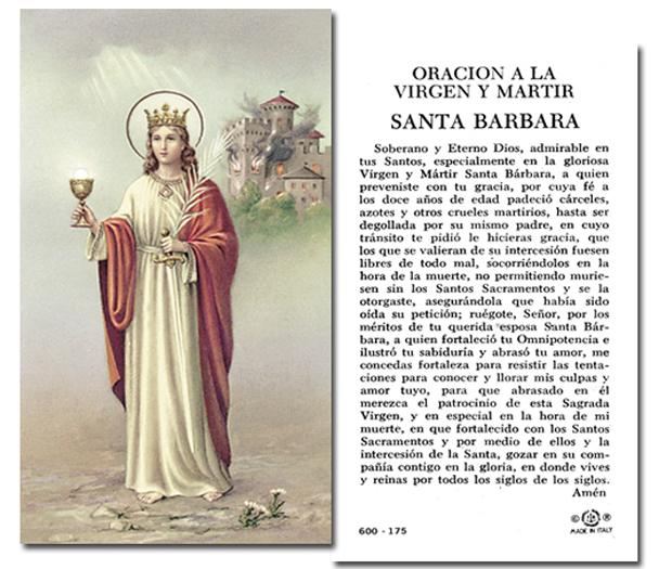 100-Pack - Santa Barbara Holy Card