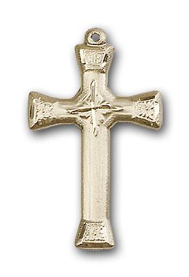 14K Gold Cross Pendant