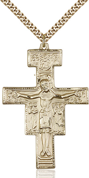 Gold-Filled San Damiano Pendant