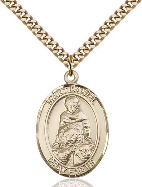 Gold-Filled St. Daniel Pendant