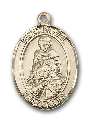 14K Gold St. Daniel Pendant