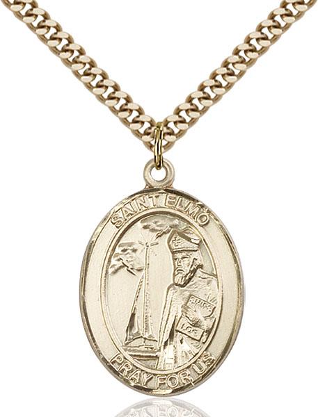 Gold-Filled St. Elmo Pendant