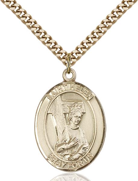 Gold-Filled St. Helen Pendant