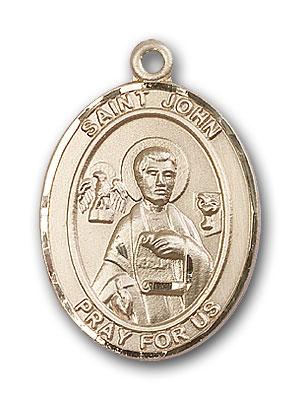 14K Gold St. John the Apostle Pendant