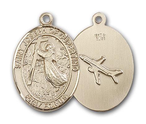 14K Gold St. Joseph Of Cupertino Pendant
